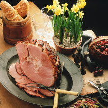 Spiral Sliced Honey-Glazed Ham (Half)